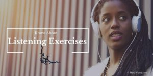 Listening Exercises for Everyday Living